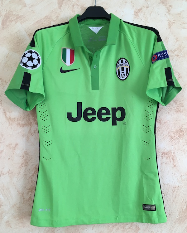 e7612ab94 33 Patrick Evrà - worn in the Champions League match vs. Atletico Madrid (2  October 2014)