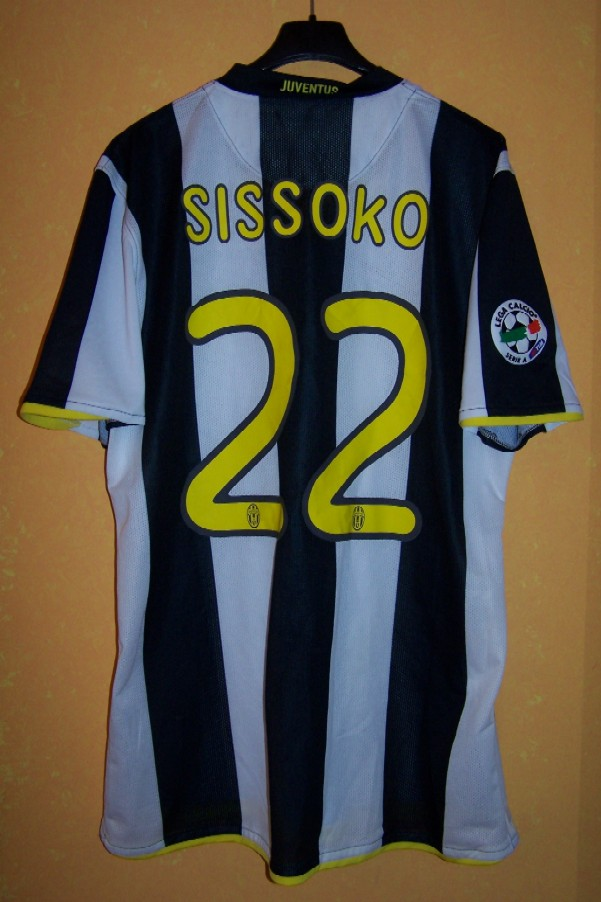e8a1d0a9c Homa 2008-09 n.22 Mohamed Sissoko - worn in a serie A match vs. Palermo (5  October 2008)