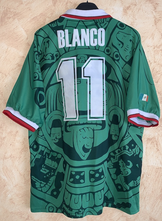057403bc0 Away 1998 - n. 11 Blanco - World Cup 1998 issued match shirt vs. Holland