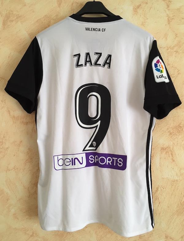 1dad5dfaa6a Home 2017-18 n. 9 Zaza worn in Spanish League match vs. Sevilla (4-0) - 21  October 2017